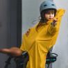 Cape de pluie enfant imperméable Rainette jaune