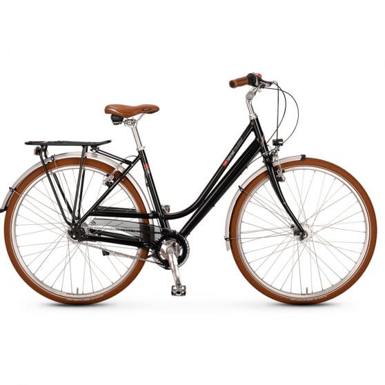 Vélo de ville VSF Fahrradmanufaktur S-80 Noir