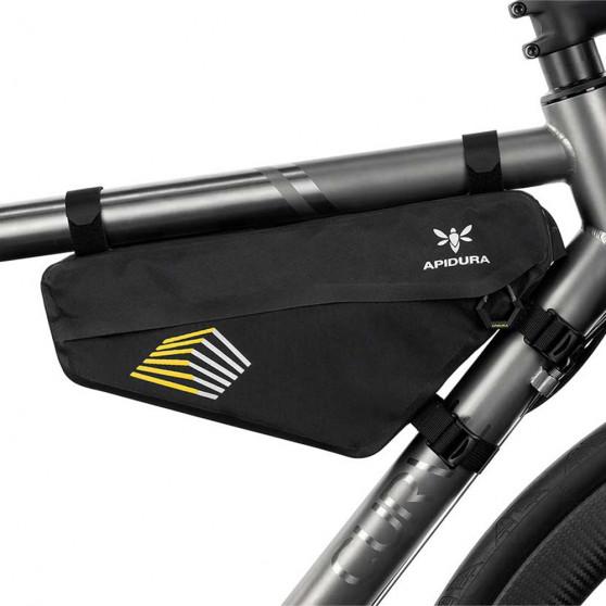 Sacoche de cadre bikepacking Apidura Racing 2.4L triangle avant
