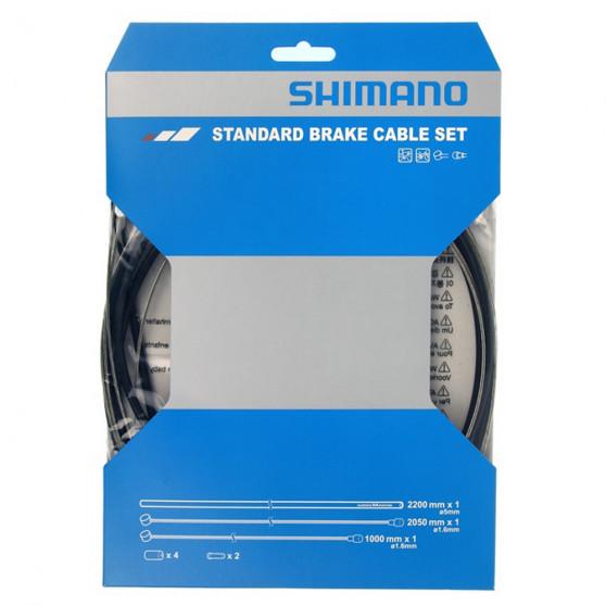 Kit câbles et gaines de frein Shimano