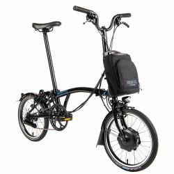 Vélo pliant électrique Brompton Electric 6 vitesses - Configuration Cyclable