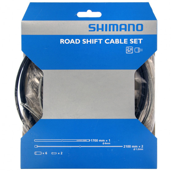Kit câblerie transmission route Shimano