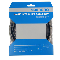 Kit câblerie transmission VTT Shimano