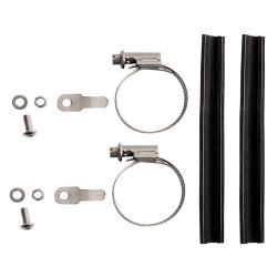 Adaptateur porte-bagages avant Tubus pour fourche sans œillets 25-40 mm