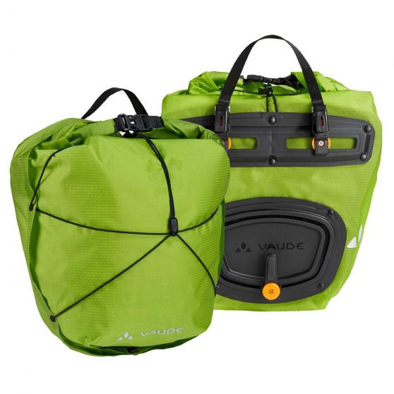 Paire de sacoches avant Vaude Aqua Front Light 2 x 10L vert