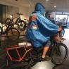 Cape de pluie Spad De Ville Fulap bleu vélo cargo