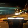 Panier de vélo avant KlickFix Uni Reflect visibilité de nuit