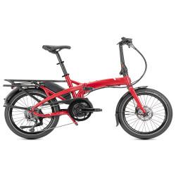 Vélo pliant électrique Tern Vektron Q9 rouge