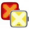 Éclairages avant et arrière Knog Blinder - 200 / 100 lumens