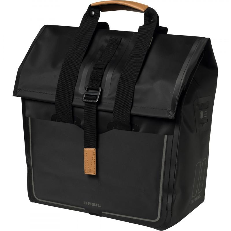 Basil Ordinateur Portable Sac exigeant Urban Dry Noir