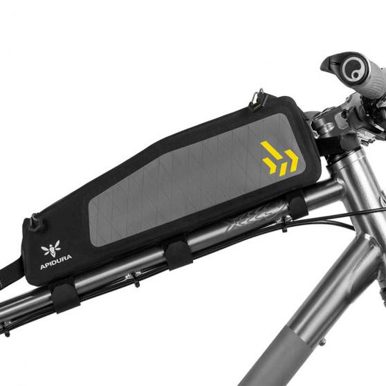 Sacoche de cadre bikepacking Apidura Backcountry Long Top Tube 1.8L