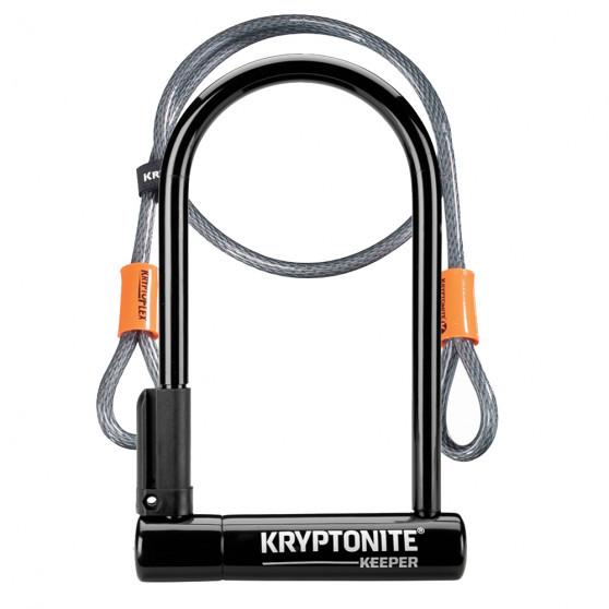 Antivol U Kryptonite Keeper 12 avec câble KryptoFlex