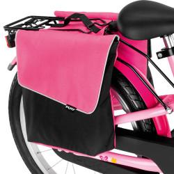 Paire de sacoches arrière vélo enfant Puky DT 3 rose