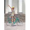 Casque de vélo ville en cuir Egide Atlas