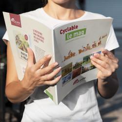 Pack de 50 Cyclable Le Mag n°2 hors-série Voyage à vélo