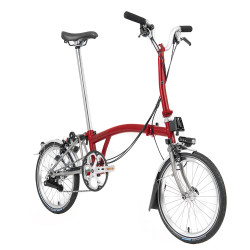 Vélo pliant Brompton Superlight type M 6 vitesses