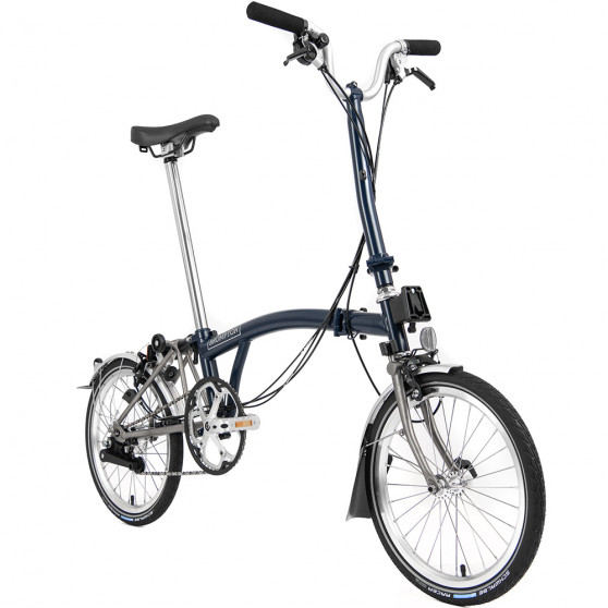 Vélo pliant Brompton Superlight type H 6 vitesses