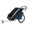 Remorque vélo enfant Thule Chariot Cross 1 Majolica Blue