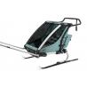 Remorque vélo enfant Thule Chariot Cross kit ski