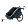 Remorque vélo enfant Thule Chariot Cross 2 Majolica Blue