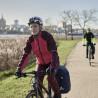Veste vélo femme Vaude Wintry IV