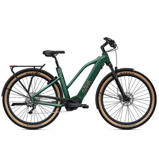 Vélo de randonnée électrique O2Feel Vern Adventure Power 8.1