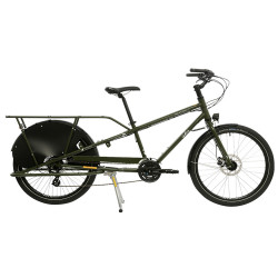 Vélo cargo Yuba Mundo LUX jaune
