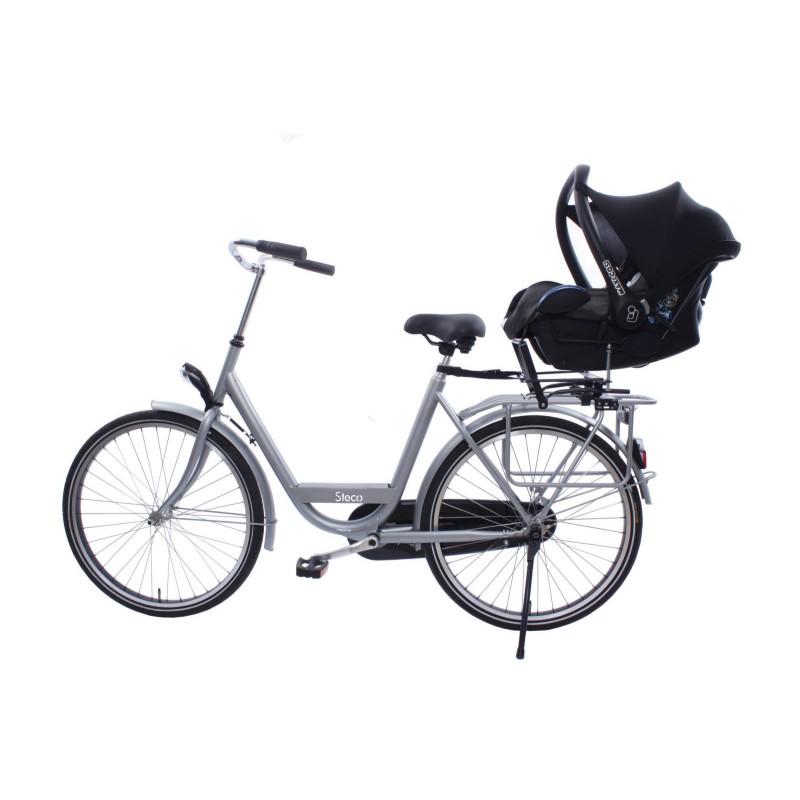 Steco PorteCosi Vélo Chez Cyclable - Vélo porte bébé