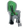 Porte-bébé vélo arrière sur cadre Hamax Kiss Gris/Vert