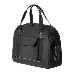 Sacoche de vélo ville Basil Portland Business Bag 19 L noir