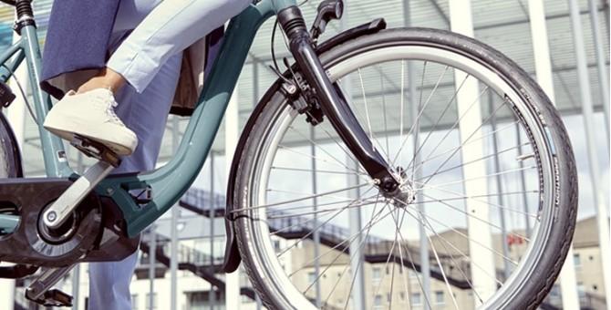 Pneu vélo ville et randonnée