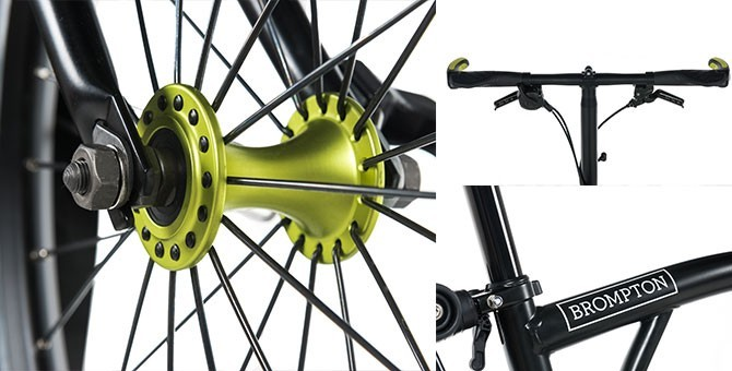 Composants et Accessoires vélo pliant