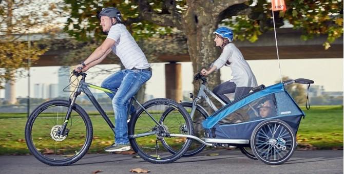 Remorques vélo enfant