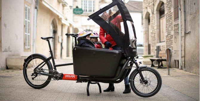 Accessoires enfant vélos cargo
