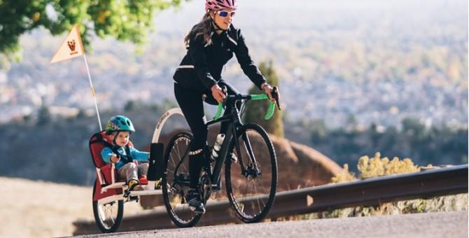 Barres de traction vélo enfant