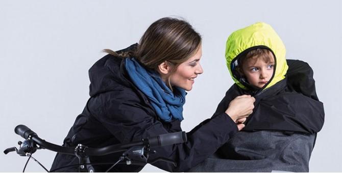 Protection pluie et froid enfants