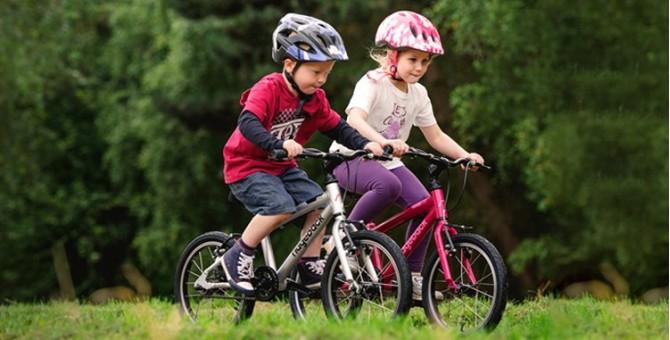 Vélo et enfant