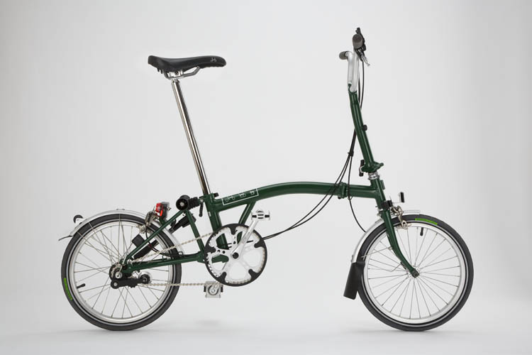 brompton racing green
