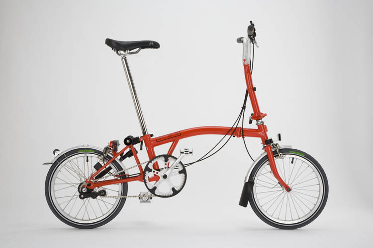 brompton red rouge