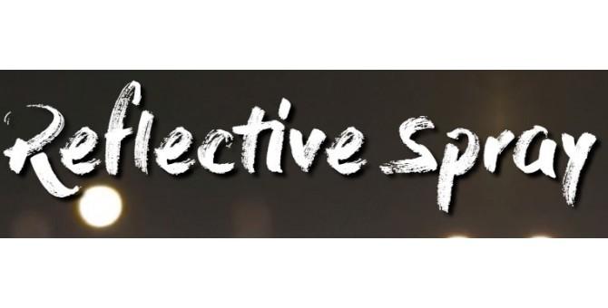 Reflective spray