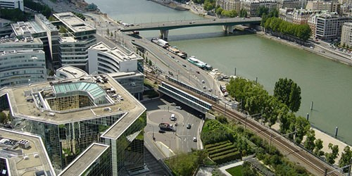 BOULOGNE-BILLANCOURT - CYCLABLE