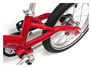 Détail vélo enfant de qualité