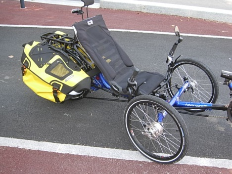 Sacoches Ortlieb vélo couché Trike