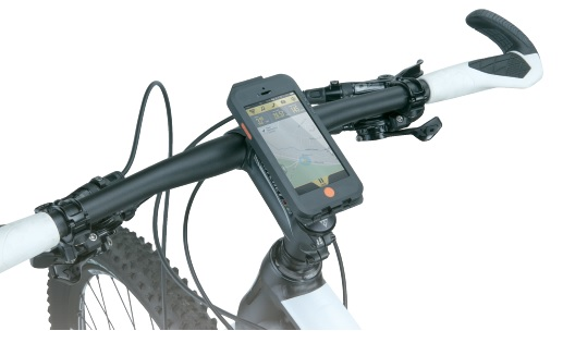 Topeak RideCase Mount on bike