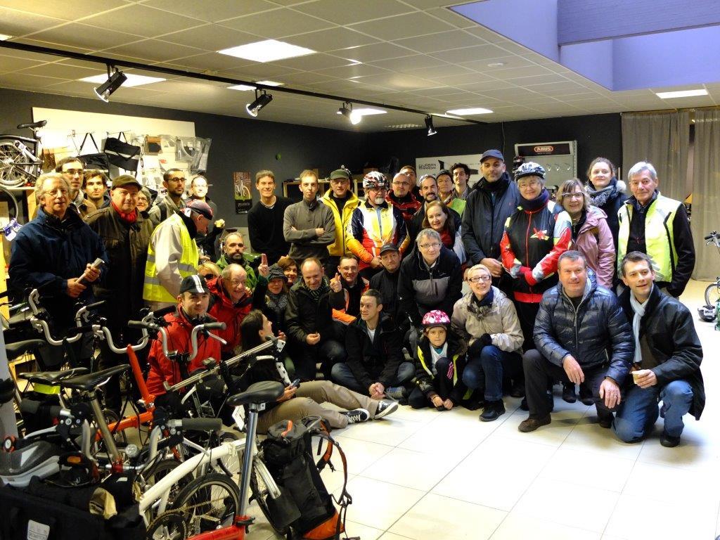Forum Brompton : le dernier rassemblement 2013 est passé à Cyclable Lille !