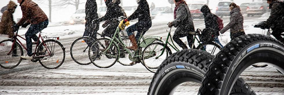 Test des pneus clous Schwalbe Marathon Winter