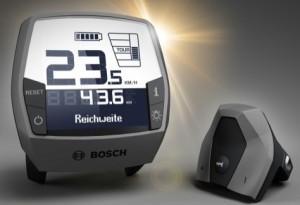 Console Bosch Intuivia amovible sur Moustache