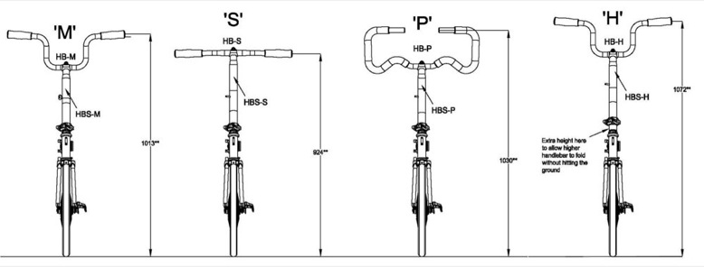 Position sur vélo pliant Brompton