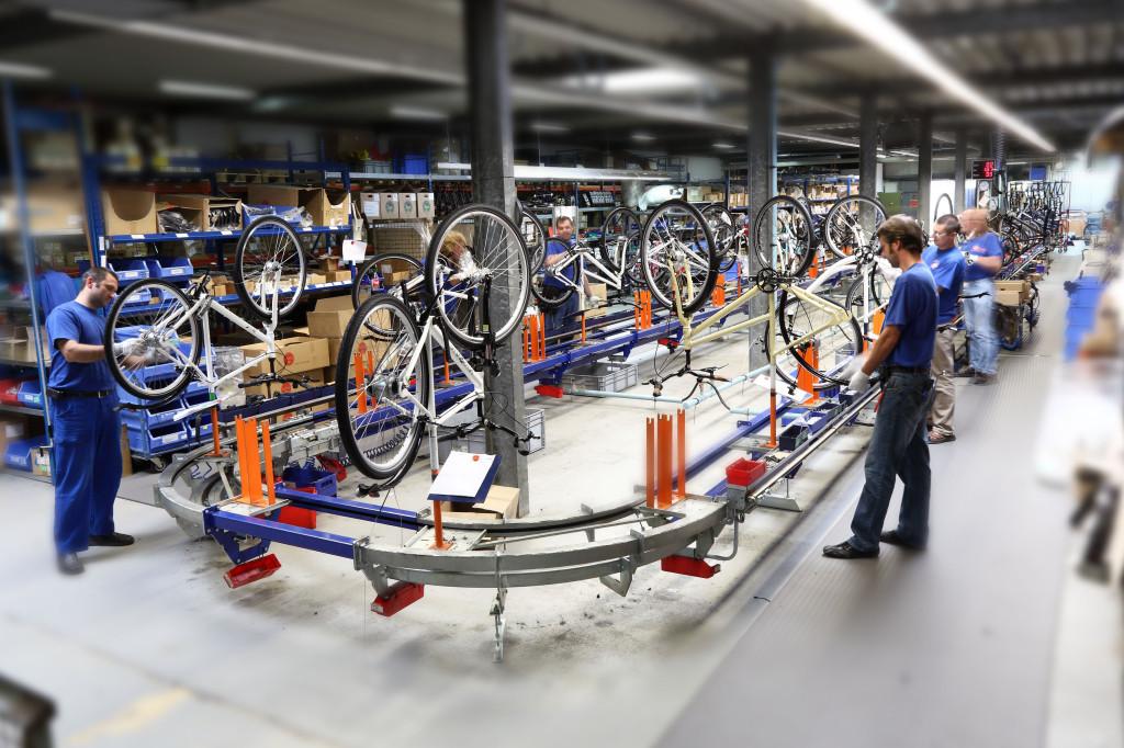 assemblage vélo