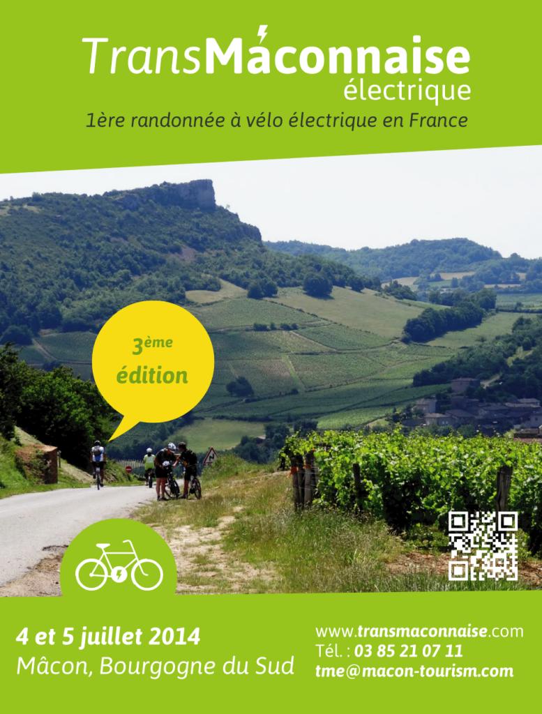 Randonnée à vélo électrique : Transmâconnaise électrique